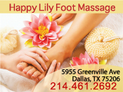 Happy Lily Foot Massage